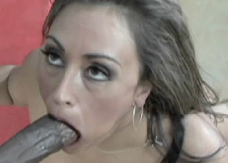 Claudia is bouncing on some black dick